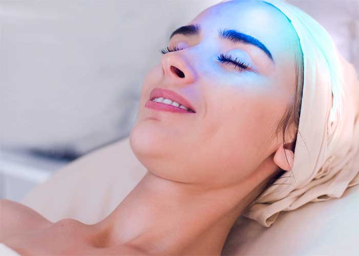 IPL Blue Light gegen unreine Haut -  JOU care for beauty